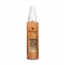 Hair & Body Mist Sclipitor cu Lăptișor de Matcă și helichrysum, 100ml. Ingrediente organice.